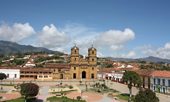 iglesia en Zapatoca