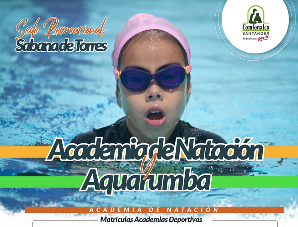 Inscribete en la academina de nataci�n o el programa de Aquarumba de Comfenalco Santander en Sabana de Torres