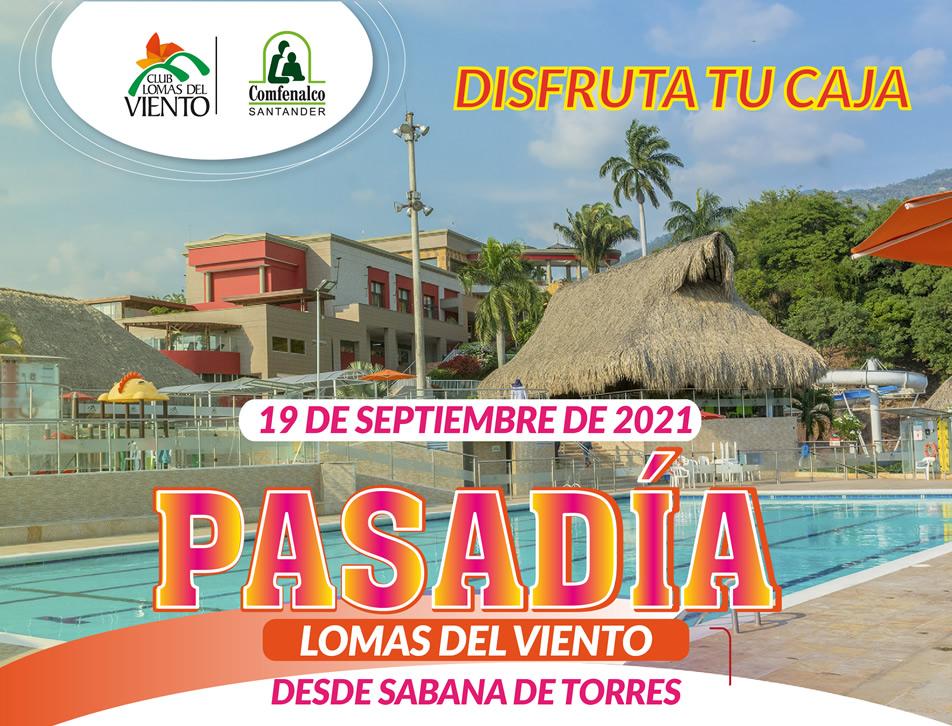 Pasad�a Club Lomas del Viento desde  Sabana de Torres septiembre de 2021