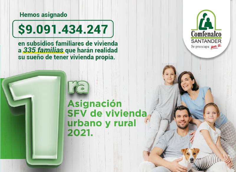 segunda postulacion subsidio familiar de vivienda 2021