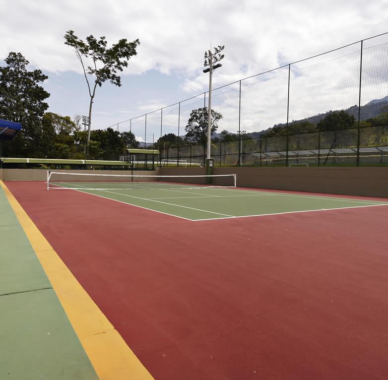 cancha de tenis sede recreacional