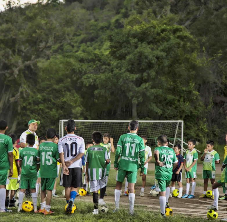 practica de futbol sede recreacional
