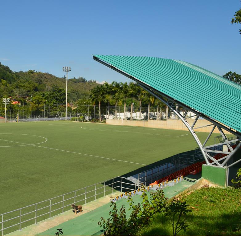 cancha futbol sede recreacional