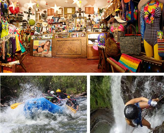 actividades en convenio meson del cuchicute: rafting - rapel - visita parque natural