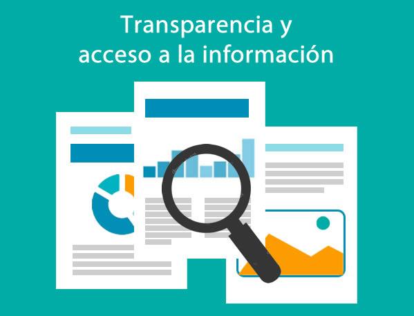 transparencia y acceso a la informacion