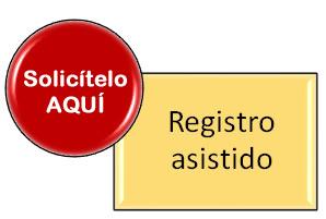 registro asistido